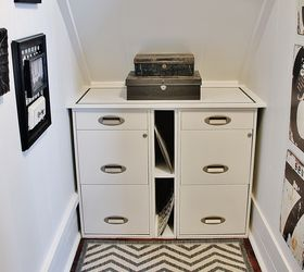 Create A Home Office Under The Stairs, Craft Rooms, Home Decor, Home Office