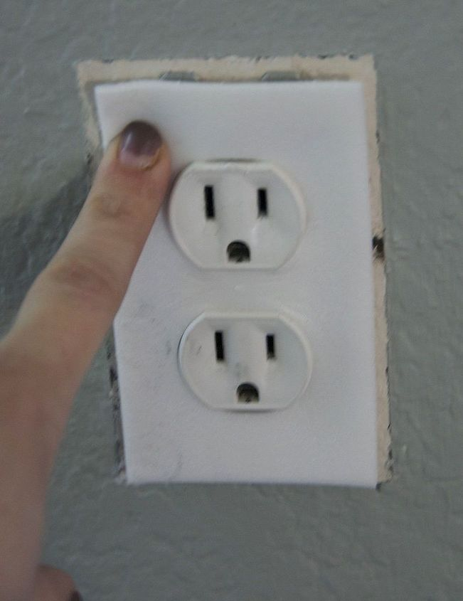 reduce your electric bill and warm your home for less than 2, electrical, go green, Place the cover around the plugs