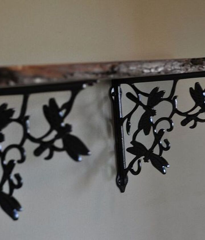 Dragonfly shelf brackets