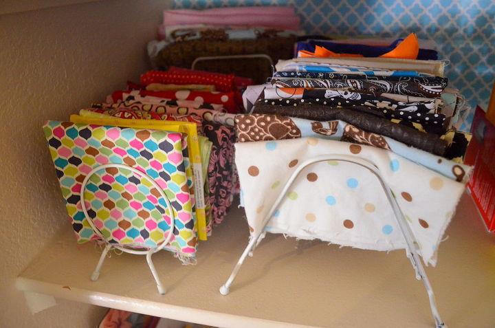 i converted my coat closet to a craft closet work space, closet, craft rooms, organizing
