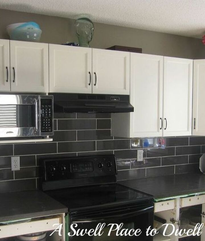 thanks for all of your comments on which way to lay the tile here s our new tile, home decor, kitchen backsplash, kitchen design, tiling
