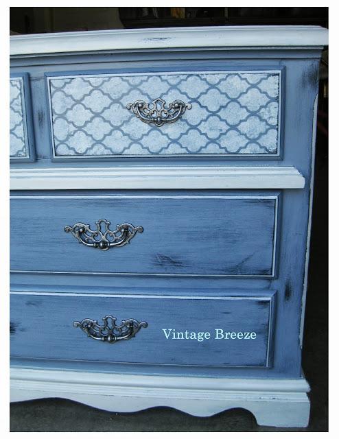 Dresser Makeover from: http://vintagebreeze.blogspot.ca/2013/09/perfectly-imperfect-dresser.html