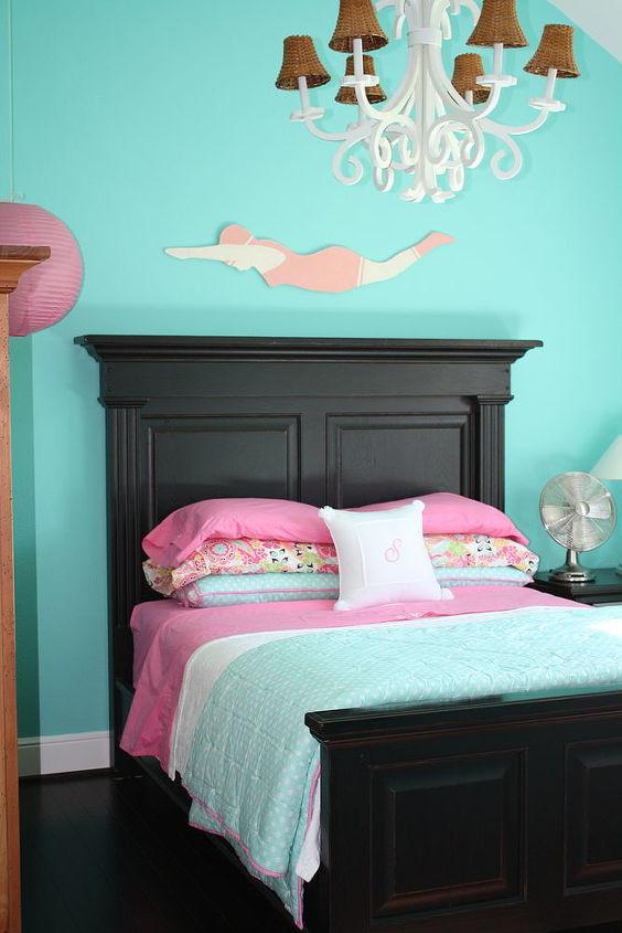 tiffany blue girl s room, bedroom ideas, home decor