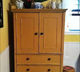 Armoire Turned Sewing Cabinet, Painted Furniture, Repurposing Upcycling,  Storage Ideas, After Painting