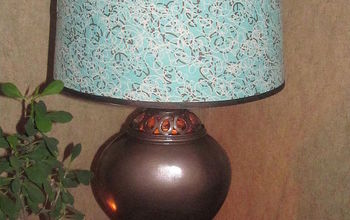 My Ugly Lamp Makeover