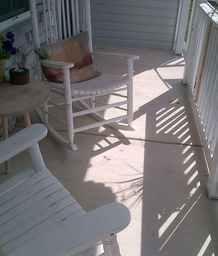 q front porch floor needs help, flooring, painting, porches