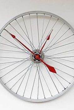 turn an old bicycle into something new, crafts, repurposing upcycling