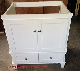 High Quality Out Of The Box Bathroom Vanity Turns Rolling Kitchen Island, Painted  Furniture, Rustic Furniture