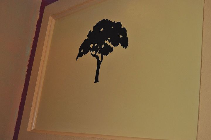 a tree i hand painted at a local pub