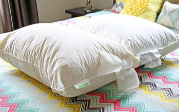 how to clean feather pillows, cleaning tips