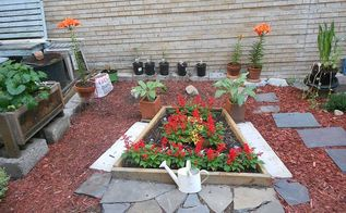 creating your own garden space, gardening, A vision I had so I made it a reality for all to enjoy