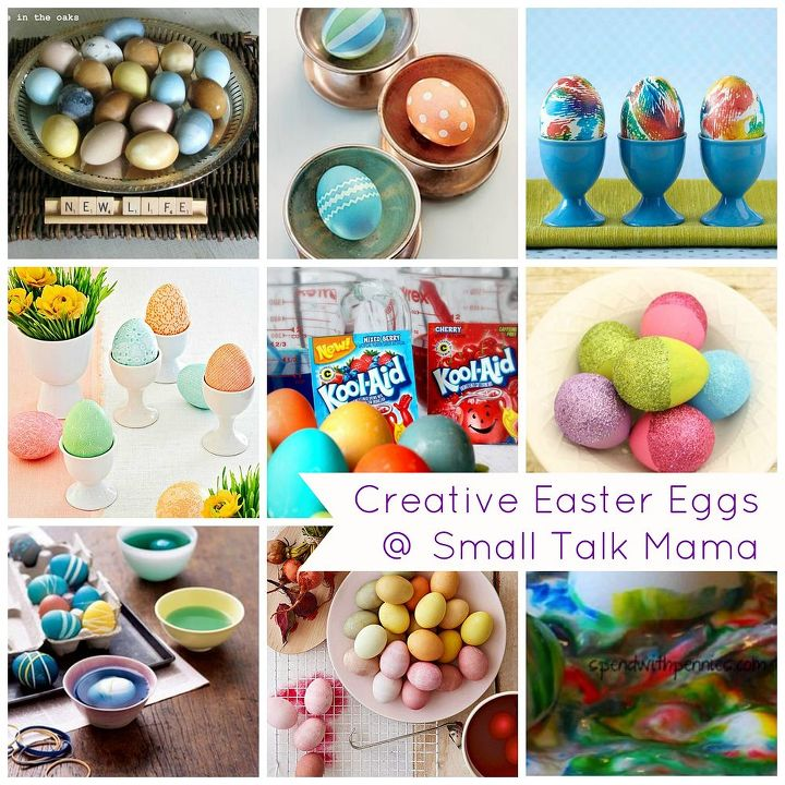 saturday sparks egg dying ideas, crafts, easter decorations, seasonal holiday decor