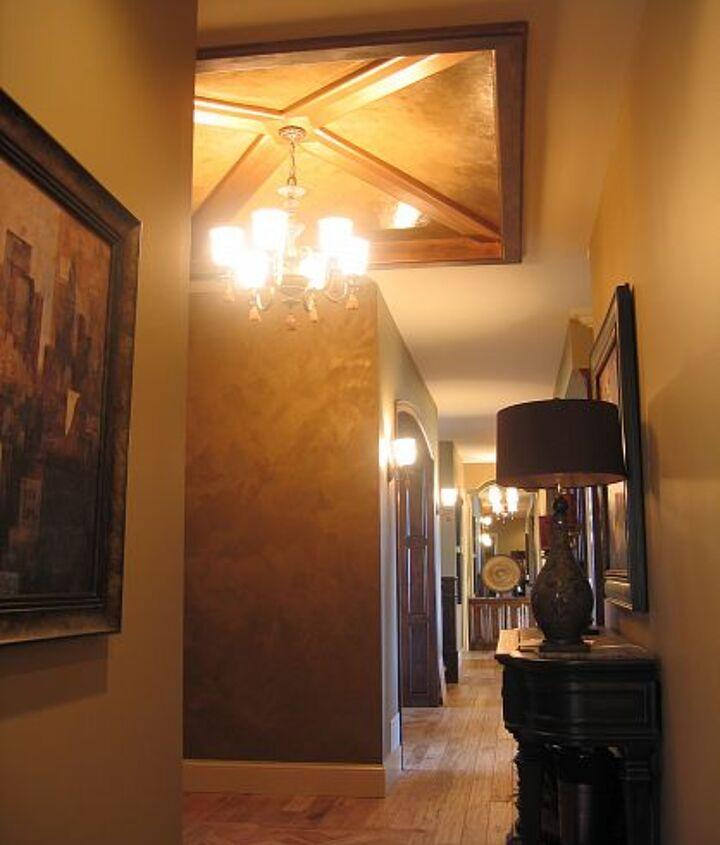 Italian Finishes & Italian Venetian Plaster - Entryway Ceiling & Walls