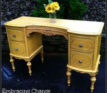 marvelous marigold antique vanity makeover the tutorial, painted furniture