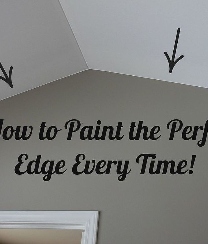 I show you how to paint the perfect edge every time.