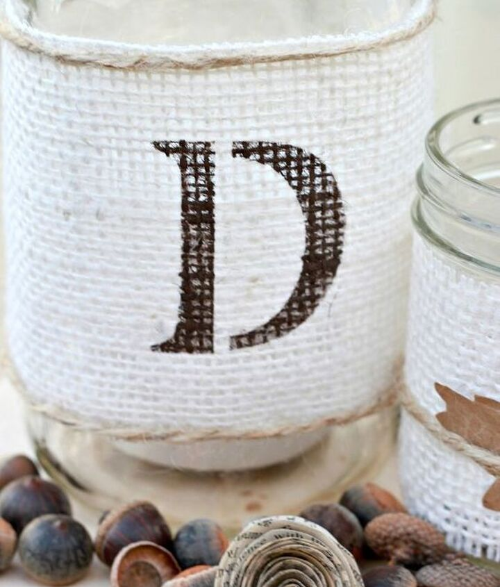rustic chic fall centerpiece tutorial, crafts