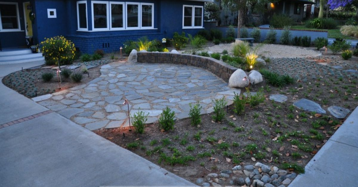 native drought tolerant front yard that 39 s gorgeous hometalk. Black Bedroom Furniture Sets. Home Design Ideas