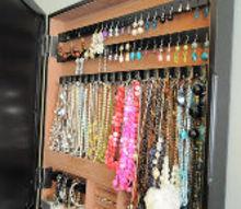 11 ways to creatively organize jewelry, organizing