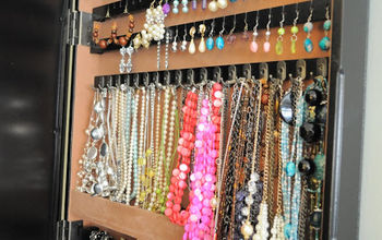 11 ways to creatively organize jewelry, organizing