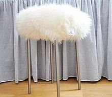a vanity table, home decor, dress up a stool using things from ikea 25