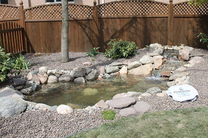 Another shot of the ecosystem pond in Chelsea, MI.