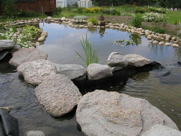 Levels and Waterfalls basin. Building instructions: http://www.usa-gardening.com/waterfall/garden-waterfall.html