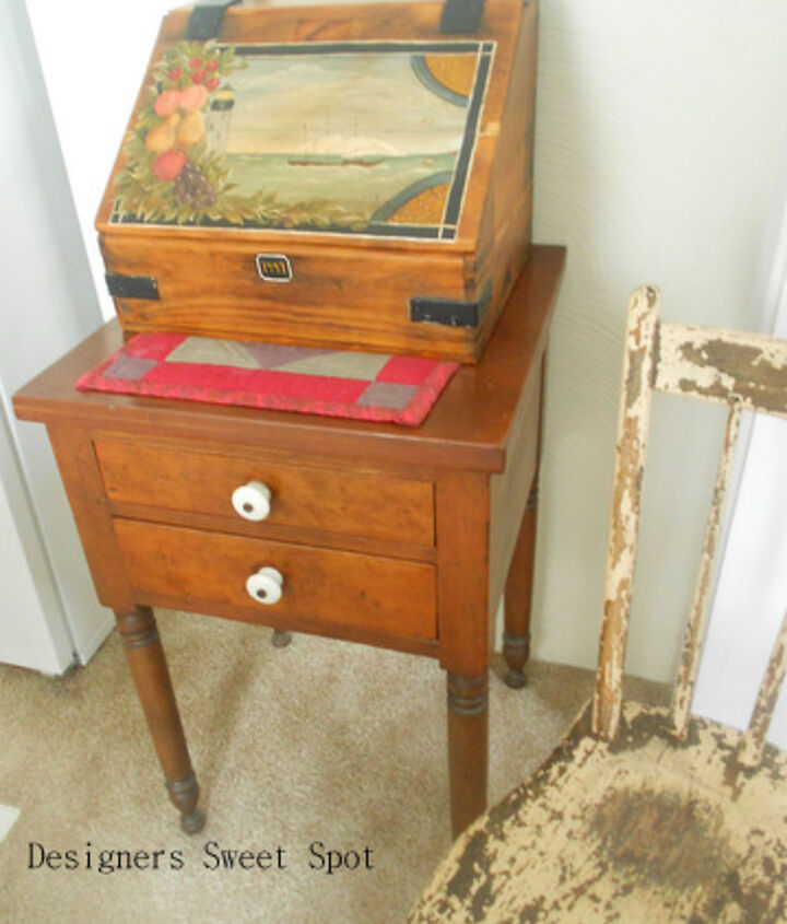 She's been an antique dealer for 35 years. These things represent a lifetime of collecting.