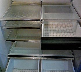 Diy Reusable Refrigerator Shelf Liner, Cleaning Tips, Shelving Ideas,  Drawers With Vinyl Liner