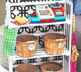 Simple Bookcase Turned Kids Grocery Store Amp Toy Storage, Diy, Painted  Furniture, Storage