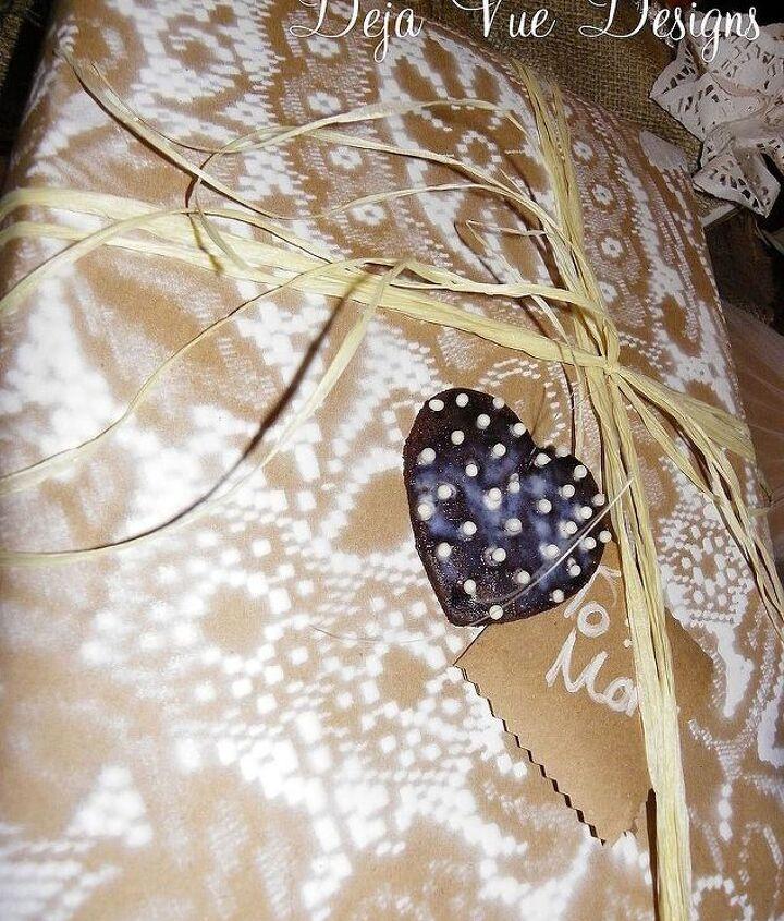 cinnamon scented gift tags onaments, crafts, seasonal holiday decor