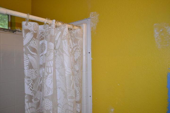 bathroom shower wall help, bathroom, diy renovations projects, home maintenance repairs