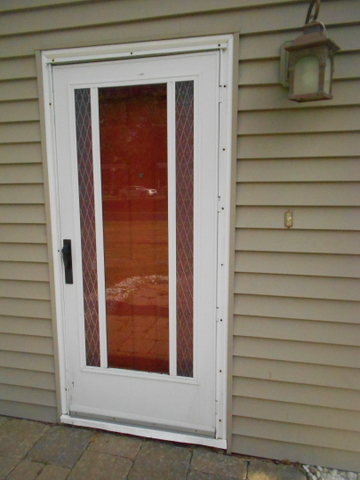 I painted the front door red, but I don't think it helps very much. Ideas?
