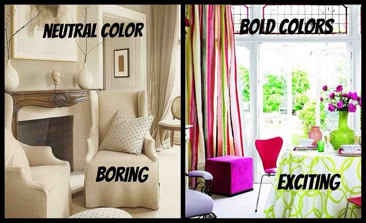 do you like living in a boring or exciting home decor style, home decor, living room ideas, Which one will it be