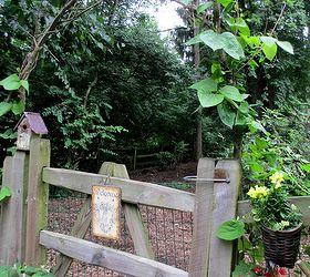 Diy Garden A Simple Branch Arbor, Gardening, Branch Arbor Last Summer As  Morning Glory
