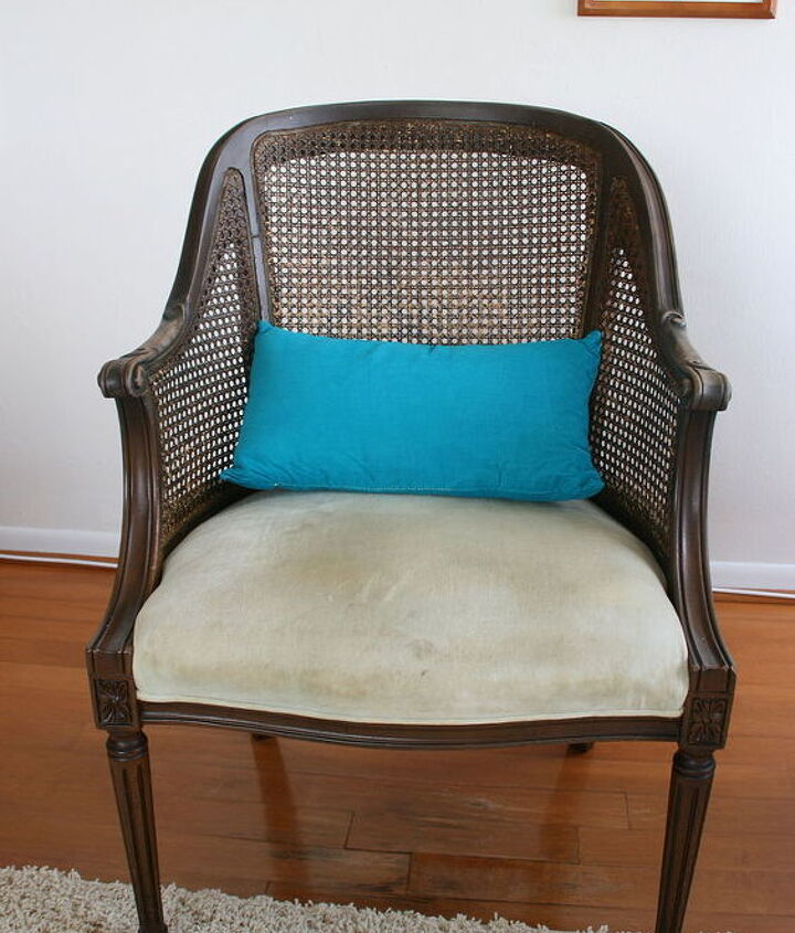 This is the chair before.