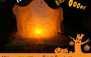 Make a Spooky but Eco-friendly Ghost for Halloween