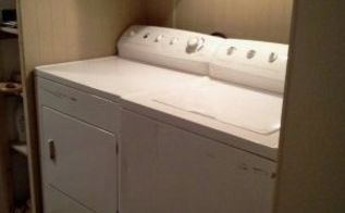 old trailer bathroom renovation, bathroom ideas, home improvement, and a new laundry area and closet where the sink was
