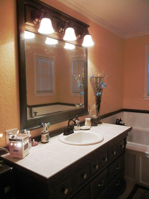 Dresser to Bathroom Vanity | Hometalk on diy dresser into vanity, dresser for spa, building a bathroom vanity, pallet bathroom vanity, dresser for entertainment center, changing table bathroom vanity, bathroom furniture vanity, dresser for living room, easy to make bathroom vanity, buffet bathroom vanity, diy bathroom vanity, homemade bathroom vanity, paint old bathroom vanity, dresser for sink, dresser for bedroom, transform dresser into vanity, bath dresser vanity,