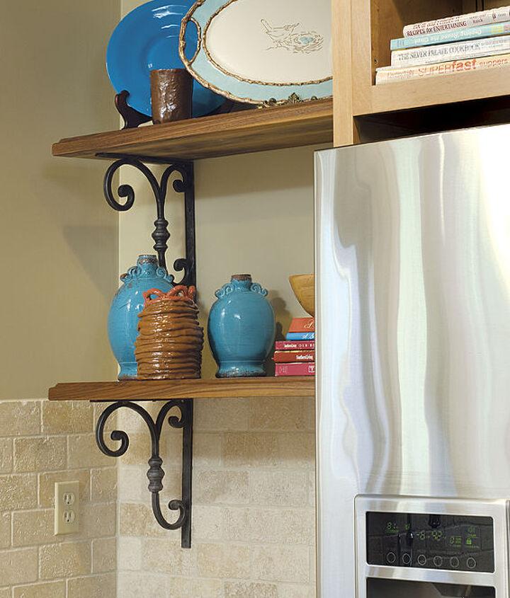 Open Shelves Were Desired By The Client - http://www.randidestefano.com/jordan-kitchen-remodel/