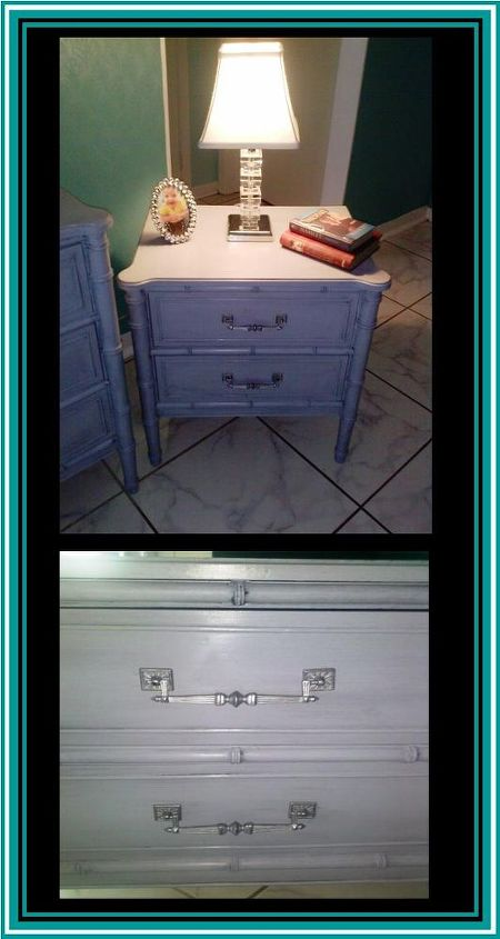 Side tables - beautiful detail