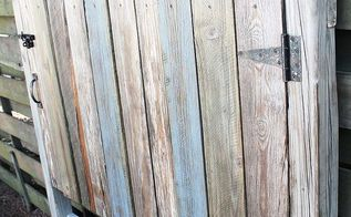 reclaimed wood headboard fence gate, pallet, woodworking projects, Reclaimed Wood Headboard Fence Gate