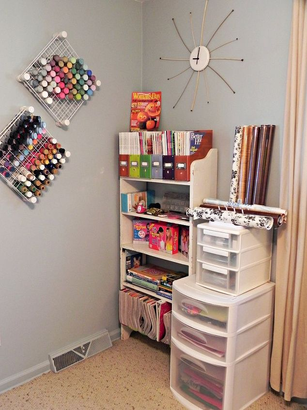 My Real Life Craft Room Rooms Storage Ideas Library And