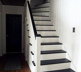 Charming Easy Way To Update A Staircase Use Paint, Diy, Painting, Stairs, Black