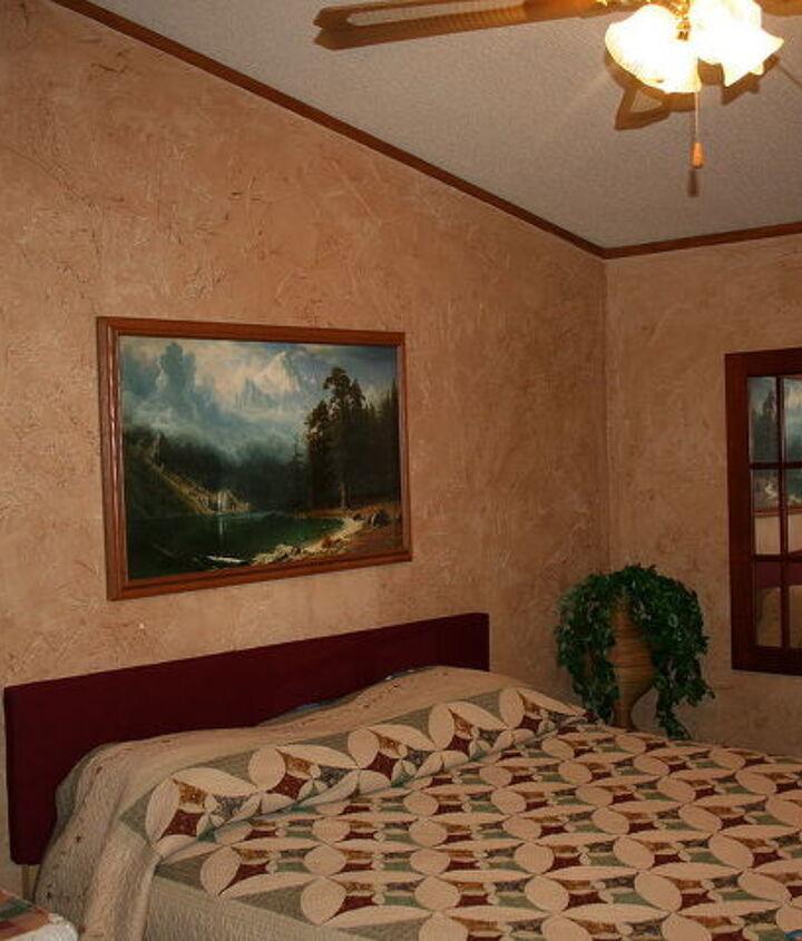 FINISHED walls -- no longer looks like paneling!!