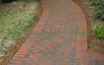 Having read a recent post about dry laid flagstone versus pavers, I wanted to share a series of photos showing the