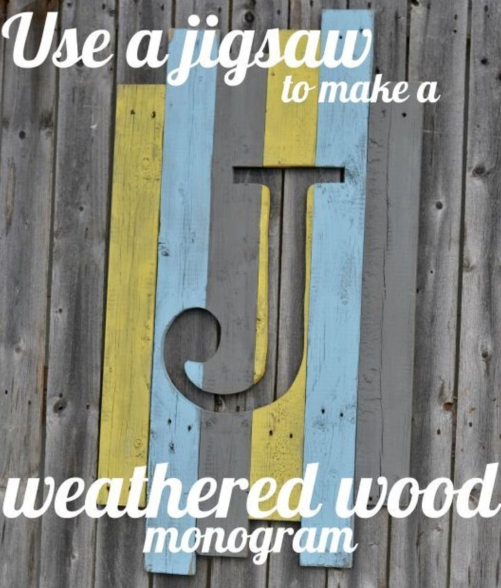 wood monogram, home decor, woodworking projects