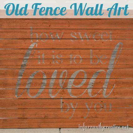 how sweet it is sign, repurposing upcycling