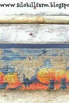 spooky tool box for halloween, crafts, halloween decorations, seasonal holiday decor