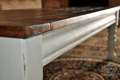 furniture, chalk paint, painted furniture, Redo an old coffee table for an updated look Tutorial