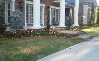 campbell landscape upgrade annual installation custom outdoor lighting, flowers, gardening, landscape, outdoor living, Symmetry